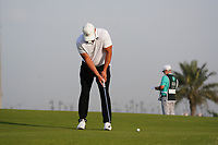 Brooks Koepka (USA) on the 11th during Round 2 of the Saudi International at the Royal Greens Golf and Country Club, King Abdullah Economic City, Saudi Arabia. 31/01/2020<br /> Picture: Golffile | Thos Caffrey<br /> <br /> <br /> All photo usage must carry mandatory copyright credit (© Golffile | Thos Caffrey)