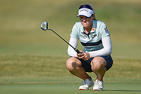 Brooke M. Henderson (CAN) lines up her putt on 2 during the round 3 of the Volunteers of America Texas Classic, the Old American Golf Club, The Colony, Texas, USA. 10/5/2019.<br /> Picture: Golffile   Ken Murray<br /> <br /> <br /> All photo usage must carry mandatory copyright credit (© Golffile   Ken Murray)