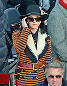 Katy Perry at the Capitol prior to United States President Barack Obama taking the oath of office during the public swearing-in ceremony at the U.S. Capitol in Washington, D.C. on Monday, January 21, 2013..Credit: Ron Sachs / CNP.(RESTRICTION: NO New York or New Jersey Newspapers or newspapers within a 75 mile radius of New York City)