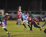 The Panthers' Braden Prescott runs vs. The Eagles in Oxford Park Commission flag football, at FNC Park in Oxford, Miss. on Tuesday, November 19, 2013.