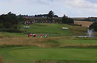 Soren Kjeldson (DEN) and David Lipsky (USA) on the 4th fairway during Round 4 of Made in Denmark at Himmerland Golf &amp; Spa Resort, Farso, Denmark. 27/08/2017<br /> Picture: Golffile | Thos Caffrey<br /> <br /> All photo usage must carry mandatory copyright credit     (&copy; Golffile | Thos Caffrey)