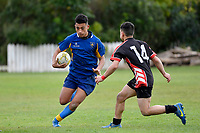 Hurricanes U15 Rugby Bowl Final - Manukura v St Bernard's College at St Patrick's Silverstream, Upper Hutt, New Zealand on Saturday 8 September 2018.<br /> Photo by Masanori Udagawa. <br /> www.photowellington.photoshelter.com