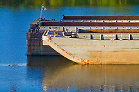 Working Push boat - Ohio River