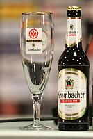 Krombacher ist Sponsor von Eintracht Frankfurt - 04.07.2018: Eintracht Frankfurt Pressekonferenz, Commerzbank Arena