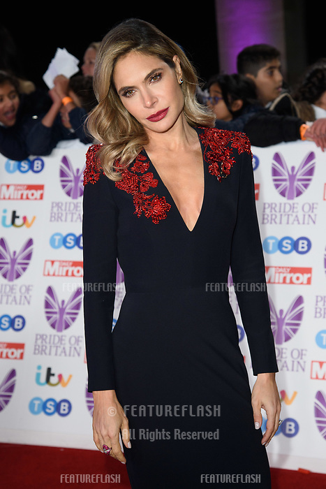 LONDON, UK. October 29, 2018: Ayda Field at the Pride of Britain Awards 2018 at the Grosvenor House Hotel, London.<br /> Picture: Steve Vas/Featureflash