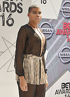 LOS ANGELES, CA - JUNE 26: E.J. Johnson at the 2016 BET Awards at the Microsoft Theater on June 26, 2016 in Los Angeles, California. Credit: Koi Sojer/MediaPunch