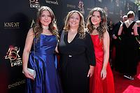 PASADENA - May 5: Bianca D'Ambrosio, Lisa D'Ambrosio, Chiara D'Ambrosio at the 46th Daytime Emmy Awards Gala at the Pasadena Civic Center on May 5, 2019 in Pasadena, California
