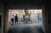 Alex Kirsch (LUX/WB Aqua Protect-Veranclassic)<br /> <br /> MEN ELITE ROAD RACE<br /> Kufstein to Innsbruck: 258.5 km<br /> <br /> UCI 2018 Road World Championships<br /> Innsbruck - Tirol / Austria
