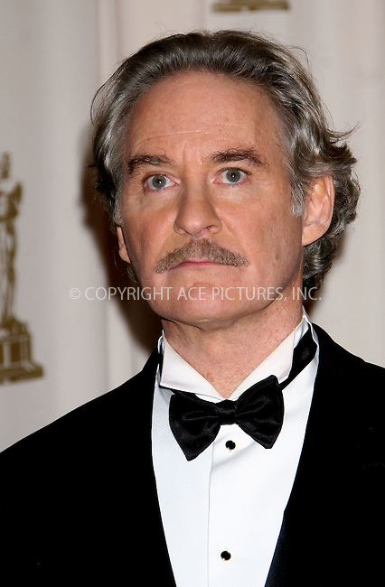 Feb 22, 2009 - Hollywood, California, USA - KEVIN KLINE in the pressroom at the 81st Annual Academy Awards held at the Kodak Theatre in Hollywood..(Credit Image: ©  /ZUMA Press)