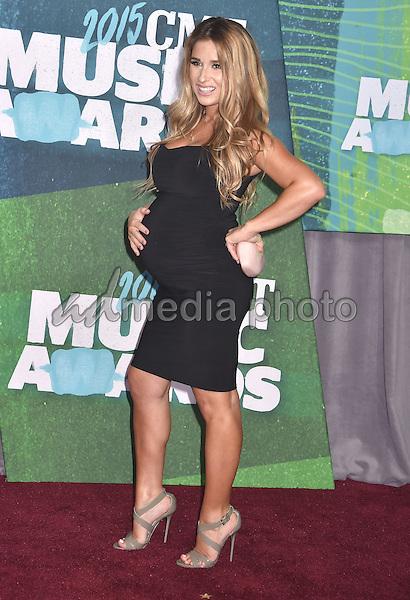 10 June 2015 - Nashville, Tennessee - Jessie James Decker. 2015 CMT Music Awards held at Bridgestone Arena. Photo Credit: Laura Farr/AdMedia