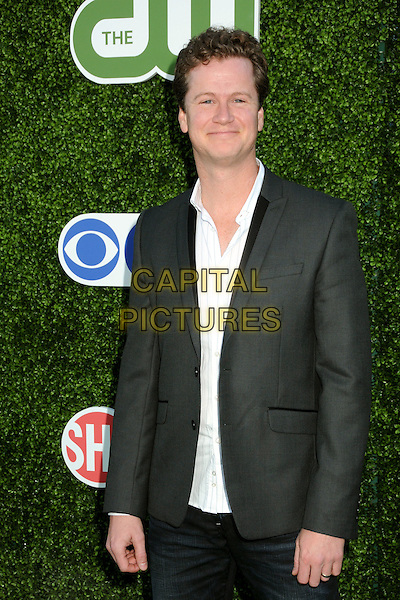 JONATHAN MANGUM.CBS Summer Press Tour Party 2010 held at The Tent, Beverly Hills, California, USA..July 28th, 2010.half length grey gray suit jacket white shirt .CAP/ADM/BP.©Byron Purvis/AdMedia/Capital Pictures.