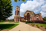 Peddle Bell Tower and Paris-Yates Chapel. Photo by Robert Jordan/Ole Miss Communications