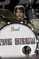 Drummer Kurtis Smith of THE BREW during a concert at Citadel Music Festival held at Citadel Spandau in Berlin, Germany, 07.06.2012...Credit: Scherf/face to face /MediaPunch Inc. ***FOR USA ONLY*** /NORTEPHOTO.COM