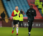 Mark Duffy of Sheffield Utd and Clayton Donaldson of Sheffield Utd during the Championship match at Villa Park Stadium, Birmingham. Picture date 23rd December 2017. Picture credit should read: Simon Bellis/Sportimage