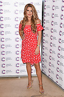 Gemma Oaten<br /> arriving at James Ingham&rsquo;s Jog On To Cancer, in aid of Cancer Research UK at The Roof Gardens in Kensington, London. <br /> <br /> <br /> &copy;Ash Knotek  D3248  12/04/2017