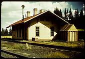 Cumbres station.<br /> D&amp;RGW  Cumbres, CO