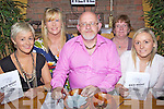 Race Night - Having a great time at the festival fundraising Race Night held in McElligot's Bar, Ardfert on Frfiday night were l/r Linda Murphy, Siobhan Hussey, Murt Murphy, Eileen Silles and Joanne Coffey...................................................................................................................................................................................................................................................................................................................... ............