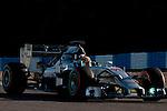 JEREZ. SPAIN. FORMULA 1<br />2013/14 en el Circuito de Jerez 30/01/2014 La imagen muestra a Lewis Hamilton de Mercedes AMG Petronas  LP / Photocall3000
