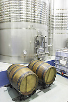 tanks with cooling coils Bodega Agribergidum, DO Bierzo, Pieros-Cacabelos spain castile and leon