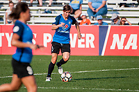 Kansas City, MO - Sunday September 3, 2017: Becca Moros during a regular season National Women's Soccer League (NWSL) match between FC Kansas City and Sky Blue FC at Children's Mercy Victory Field.