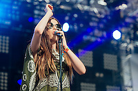 Ryn Weaver performs at Coachella Valley Music and Arts Festival, Weekend 2, Day 2 (Photo by Tiffany Chien/Guest Of A Guest)