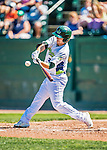 5 September 2016: Vermont Lake Monster outfielder Tyler Ramirez in action against the Lowell Spinners at Centennial Field in Burlington, Vermont. The Lake Monsters defeated the Spinners 9-5 to close out their 2016 NY Penn League season. Mandatory Credit: Ed Wolfstein Photo *** RAW (NEF) Image File Available ***