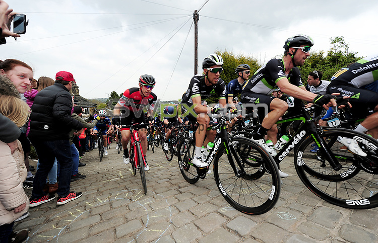 Picture by Simon Wilkinson/SWpix.com - 30/04/2017 - Cycling Tour de Yorkshire 2017 - Stage 3 Bradford to Fox Valley Sheffield<br />