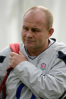Marlow, GREAT BRITAIN, England Head Coach, Andy ROBINSON at the England Rugby Training session, Bisham Abbey, ENGLAND. 31/10/2006. [Photo, Peter Spurrier/Intersport-images].....