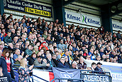 30th September 2017, Dens Park, Dundee, Scotland; Scottish Premier League football, Dundee versus Hearts; Dundee fans