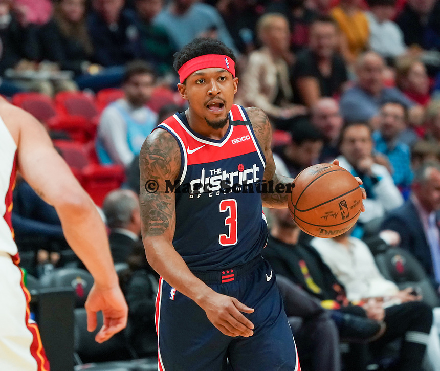 Beal Bradley (G, Washington Wizards, #3) - 22.01.2020: Miami Heat vs. Washington Wizards, American Airlines Arena