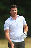 Kyle McCarron (North West) on the 12th tee during Round 2 - Strokeplay of the North of Ireland Championship at Royal Portrush Golf Club, Portrush, Co. Antrim on Tuesday 10th July 2018.<br /> Picture:  Thos Caffrey / Golffile