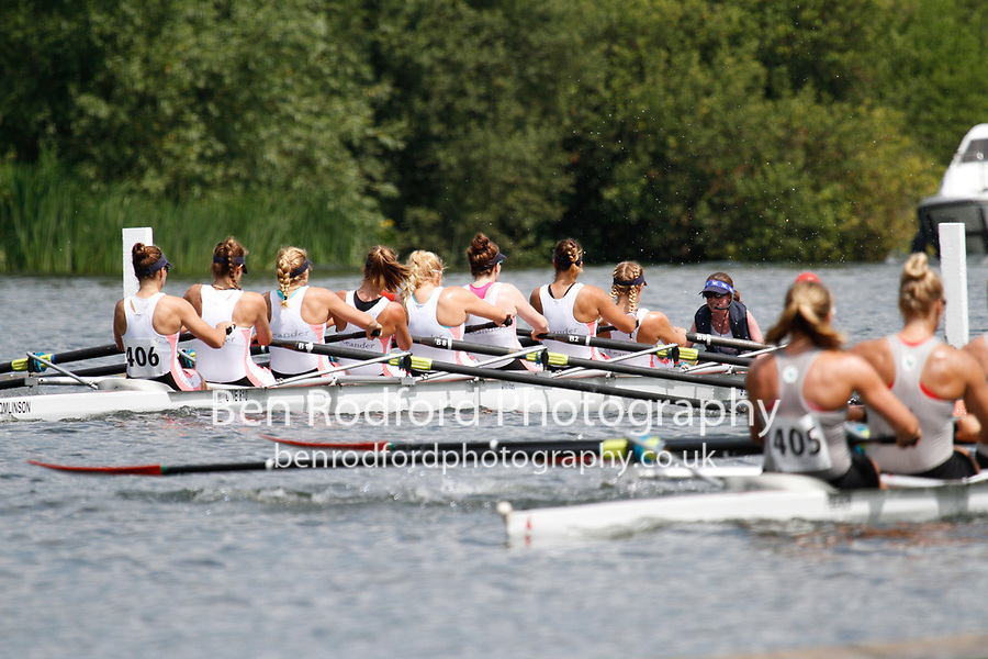 Race: 332 Event: E8 Semi-Final - Ohio State Univ (USA) vs Leander Club<br /> <br /> Henley Women's Regatta 2017<br /> <br /> To purchase this photo, or to see pricing information for Prints and Downloads, click the blue 'Add to Cart' button at the top-right of the page.