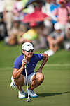 TAOYUAN, TAIWAN - OCTOBER 26:  Yani Tseng of Taiwan lines up a put on the 8th hole during the day two of the Sunrise LPGA Taiwan Championship at the Sunrise Golf Course on October 26, 2012 in Taoyuan, Taiwan. Photo by Victor Fraile / The Power of Sport Images