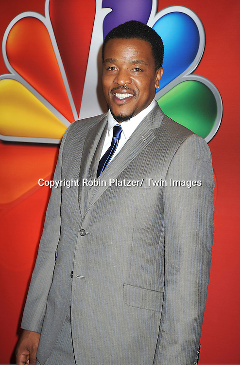 """Russell Hornsby  of """"Grimm"""" attends the NBC Upfront Presentation of 2012-2013 Season at Radio City Music Hall on May 14, 2012 in New York City."""
