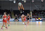 New Zealand&rsquo;s Grace Rasmussen in action during todays match   <br /> <br /> Swansea University International Netball Test Series: Wales v New Zealand<br /> Ice Arena Wales<br /> 08.02.17<br /> &copy;Ian Cook - Sportingwales