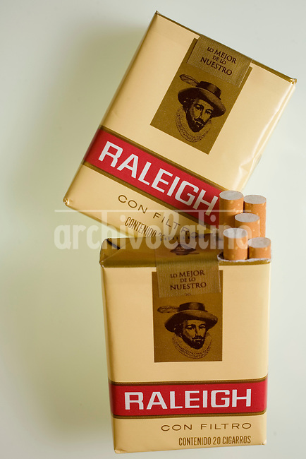 Raleigh cigarettes..Phtographer: Gustavo Graf