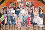Double Celebration: Mark Culloty, Ballybunio & Mark Murphy, Tralee celebtaring their 21st birthdays with family & friends at The Railway Bar, Ballybunion on Saturday night last.