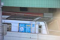 SÃO PAULO, SP - 03.02.2014 - Problema na Linha Vermelha da CPTM na Estação Guilhermina /Esperança  sentido Barra Funda na zona leste de São Paulo.(Foto: Adriano Lima / Brazil Photo Press)