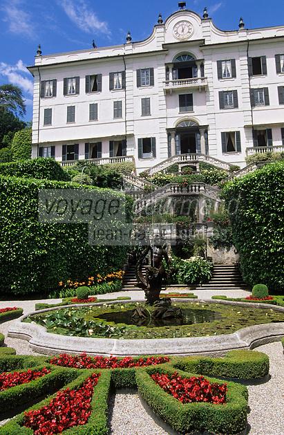 Europe/Italie/Lac de Come/Lombardie/Tremezzo : Villa Carlotta (XVIII°)