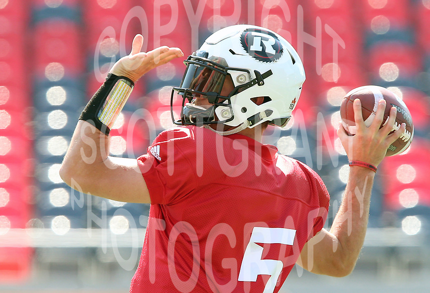 Drew Tate-Ottawa RedBlacks-14sept2017: Photo: Scott Grant