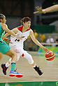 Sanae Motokawa (JPN), AUGUST 8, 2016 - Basketball : <br /> Women's Preliminary Round <br /> between Japan 82-66 Brazil <br /> at Youth Arena <br /> during the Rio 2016 Olympic Games in Rio de Janeiro, Brazil. <br /> (Photo by Yusuke Nakanishi/AFLO SPORT)