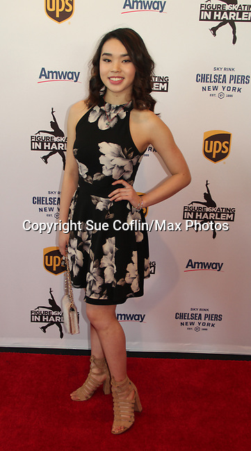 Karen Chen - US Figure Skater - Figure Skating in Harlem's Champions in Life (in its 21st year) Benefit Gala recognizing the medal-winning 2018 US Olympic Figure Skating Team on May 1, 2018 at Pier Sixty at Chelsea Piers, New York City, New York. (Photo by Sue Coflin/Max Photo)