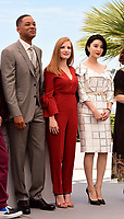 www.acepixs.com<br /> <br /> May 17 2017, Cannes<br /> <br /> Will Smith, Jessica Chastain and Fan Bingbing at a photocall for Jury members during the 70th annual Cannes Film Festival at Palais des Festivals on May 17, 2017 in Cannes, France.<br /> <br /> By Line: Famous/ACE Pictures<br /> <br /> <br /> ACE Pictures Inc<br /> Tel: 6467670430<br /> Email: info@acepixs.com<br /> www.acepixs.com