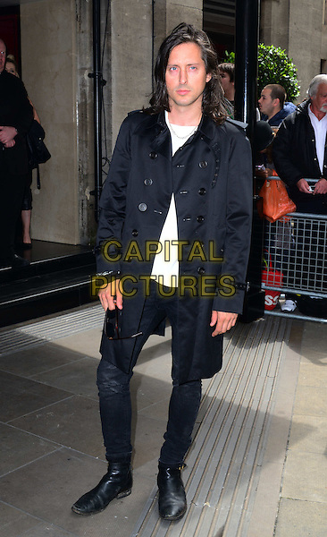 LONDON, ENGLAND - MAY 22:   Carl Barat attends The Ivor Novello Awards, the 59th annual songwriting and composing awards, at Grosvenor House, 86-90 Park Lane, on May 22, 2014, in London, England.<br /> <br /> CAP/JOR<br /> &copy;Nils Jorgensen/Capital Pictures
