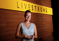 Katherine McLane of the LIVESTRONG Foundation photographed for PRWeek in Austin, TX on May 29, 2013. Photo by Chris Covatta.