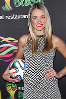 NEW YORK CITY, NY, USA - JUNE 05: Katrina Bowden at the 2014 FIFA World Cup McDonald's Launch Party held at Pillars 38 on June 5, 2014 in New York City, New York, United States. (Photo by Jeffery Duran/Celebrity Monitor)
