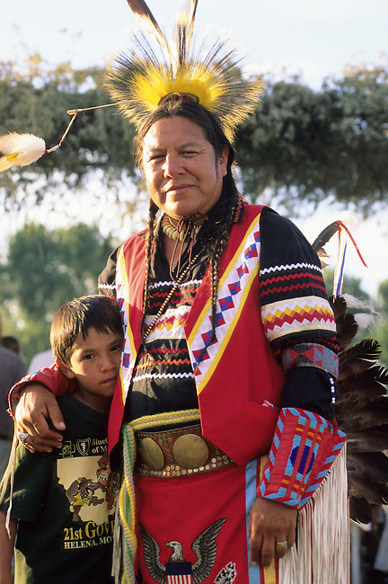 Native American family of a traditional Blackfeet man who hands down his tribal traditions and is a mentor to his school age nephew in Browning Montana