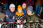The Chrapet family from Killarney at the firework display in Denny St on New Years Eve.<br /> L-r, Peter, Paula, Sara and Martina Chrapet.