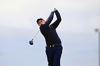 Paul Dunne (IRL) on the 5th tee during Round 1 of the Open de Espana 2018 at Centro Nacional de Golf on Thursday 12th April 2018.<br /> Picture:  Thos Caffrey / www.golffile.ie<br /> <br /> All photo usage must carry mandatory copyright credit (&copy; Golffile | Thos Caffrey)