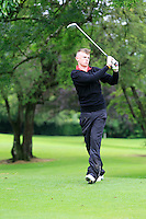 Patrick Egan (Esker Hills) on the 3rd tee during round 1 of The Mullingar Scratch Cup in Mullingar Golf Club on Sunday 3rd August 2014.<br /> Picture:  Thos Caffrey / www.golffile.ie